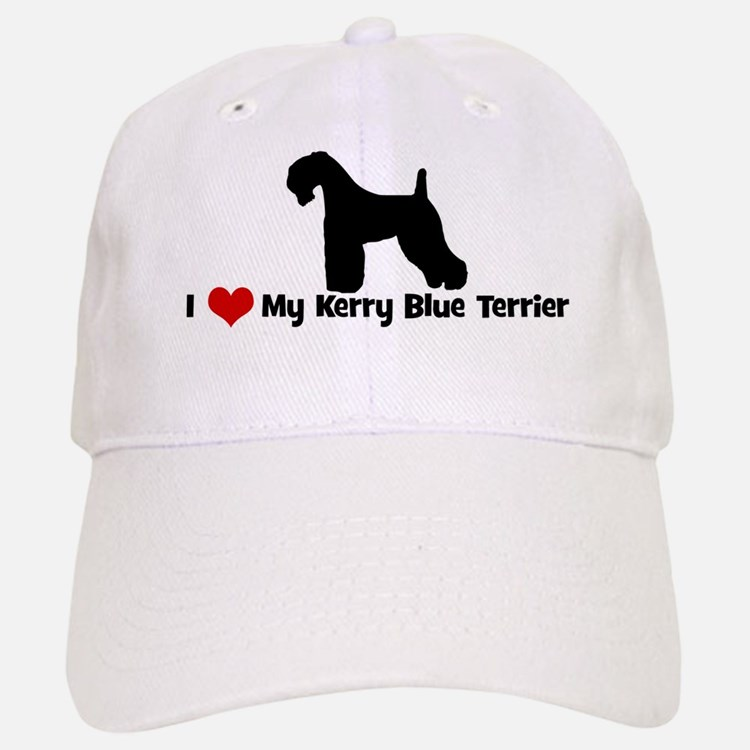 I Love My Kerry Blue Terrier Baseball Baseball Cap