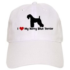 I Love My Kerry Blue Terrier Cap