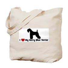 I Love My Kerry Blue Terrier Tote Bag