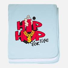 Hip Hop For Life baby blanket
