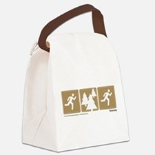 Run Forrest Run Canvas Lunch Bag