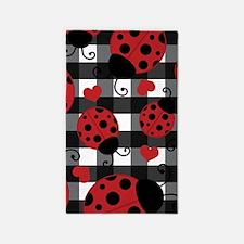 ladybug lover Area Rug