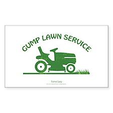 Gump Lawn Decal