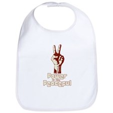 Power to the Peaceful Bib