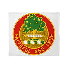 5 Field Artillery Regiment.psd.png Throw Blanket