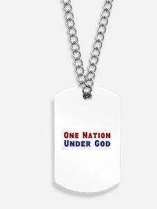 One Nation Under God Dog Tags