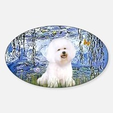 Funny Famous art Sticker (Oval)