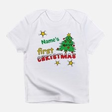 Custom First Christmas Infant T-Shirt