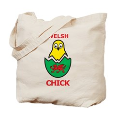 Welsh Chick Tote Bag