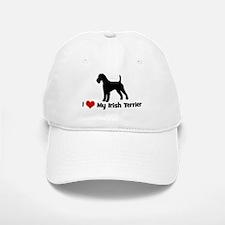 I Love My Irish Terrier Baseball Baseball Cap