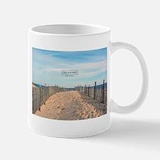 Delaware Beaches - Cape Henlopen. Mug