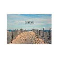 Delaware Beaches - Cape Henlopen. Rectangle Magnet