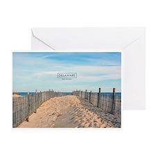 Delaware Beaches - Cape Henlopen. Greeting Card