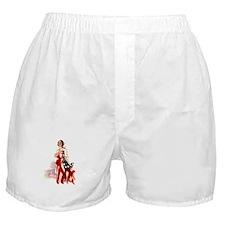 Vintage Flag Art Boxer Shorts