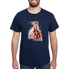 Vintage Flag Art T-Shirt