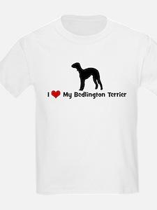 I Love My Bedlington Terrier T-Shirt