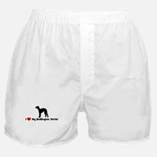 I Love My Bedlington Terrier Boxer Shorts