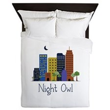 Night Owl Queen Duvet