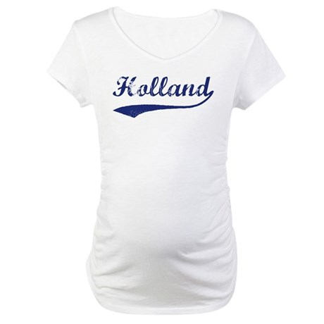 Holland - vintage (blue) Maternity T-Shirt