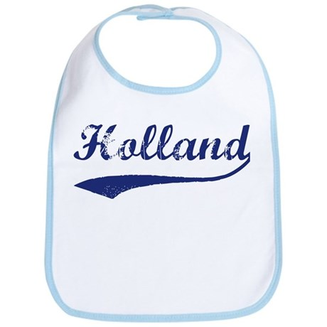 Holland - vintage (blue) Bib