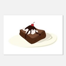 Brownie Dessert Postcards (Package of 8)