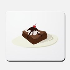 Brownie Dessert Mousepad