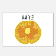 Waffles! Postcards (Package of 8)