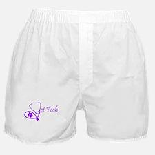 vet tech stethoscope design Boxer Shorts