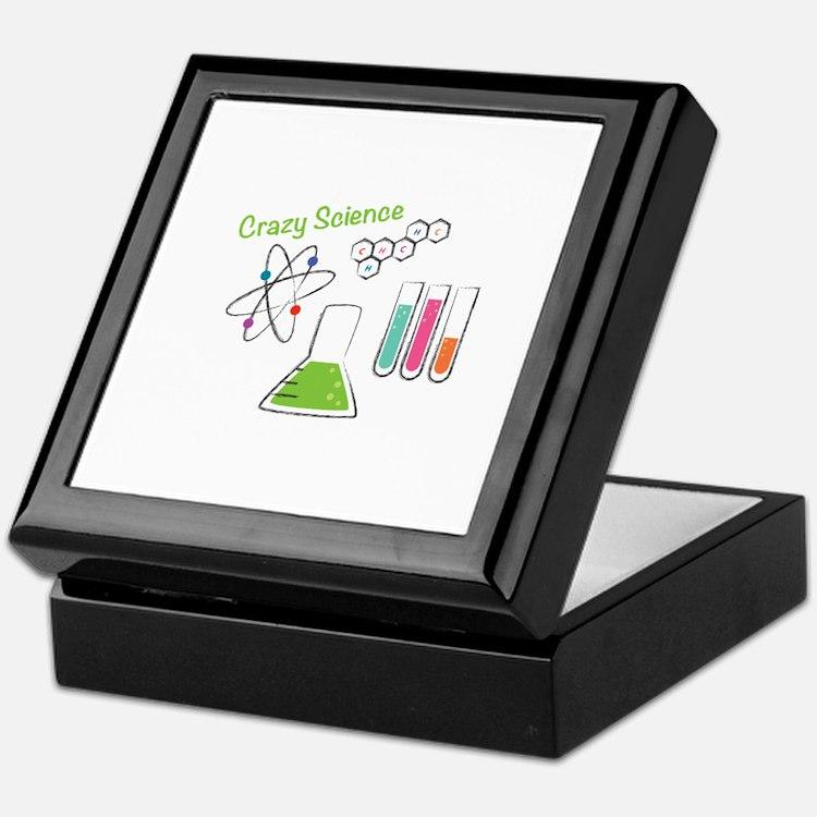 Crazy Science Keepsake Box