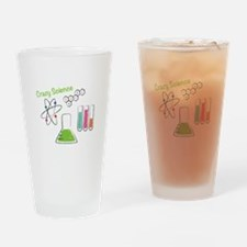 Crazy Science Drinking Glass