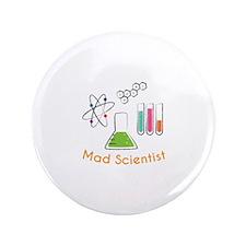 """Mad Scientist 3.5"""" Button"""
