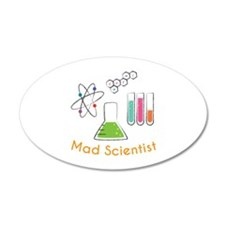 Mad Scientist Wall Decal