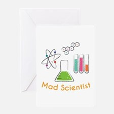 Mad Scientist Greeting Cards