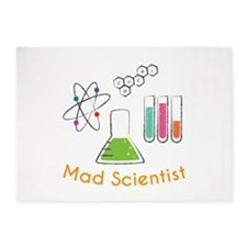 Mad Scientist 5'x7'Area Rug