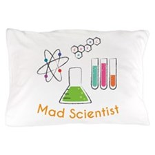Mad Scientist Pillow Case