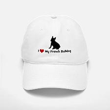 I Love My French Bulldog Baseball Baseball Cap