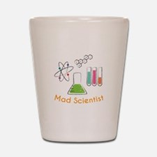 Mad Scientist Shot Glass