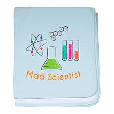 Mad Scientist baby blanket