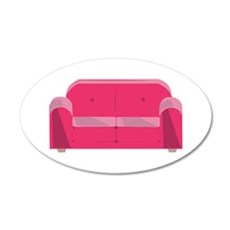 Home Couch Wall Decal