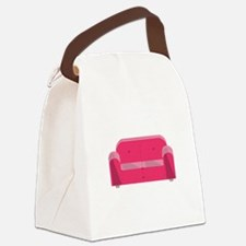 Home Couch Canvas Lunch Bag