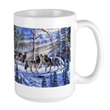Wolf Large Mugs (15 oz)