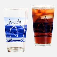 Funny Atheist symbol Drinking Glass