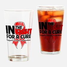 Cure Stroke Disease Drinking Glass