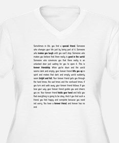Forever has no end Plus Size T-Shirt