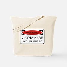 Attitude Vietnamese Tote Bag