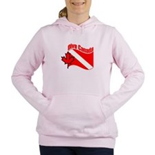 Unique Diver Women's Hooded Sweatshirt
