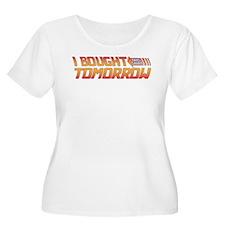 I Bought This Shirt Tomorrow Plus Size T-Shirt