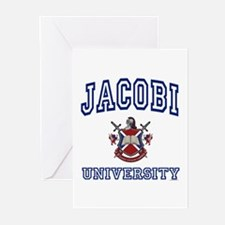 JACOBI University Greeting Cards (Pk of 10)