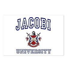 JACOBI University Postcards (Package of 8)