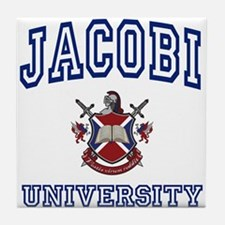 JACOBI University Tile Coaster